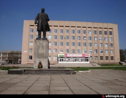 Влада Золотоноші вкрала Леніна?