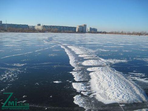 Неймовірне Дніпро  у сильний мороз (ФОТО)