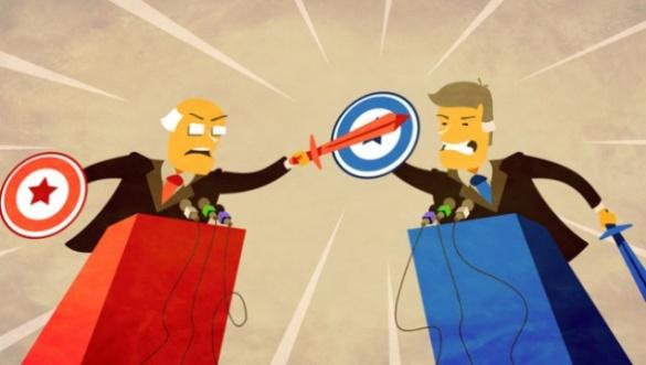 У Черкасах розпочалися виборчі дебати між потенційними мерами