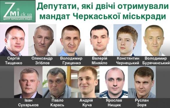 Двічі в одну річку увійдеш: як черкаські депутати в міськраду