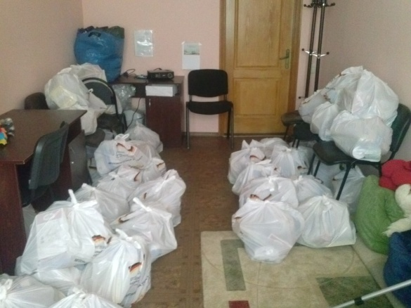 Черкаські рятувальники передали допомогу жителям Сходу
