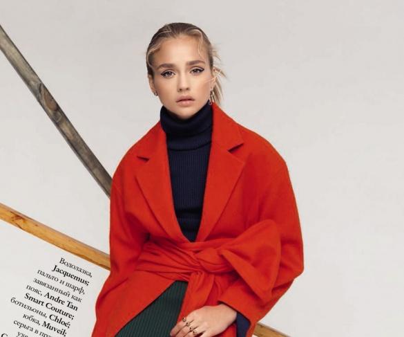Фото черкащанки опублікували в одному з найпопулярніших світових глянців про моду