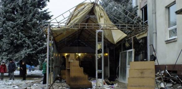 Квітковий павільйон заважає реконструювати черкаський драмтеатр (ВІДЕО)