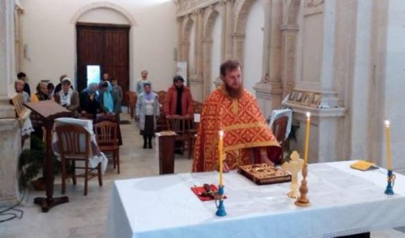 Черкаський священик служить в православному монастирі Італії