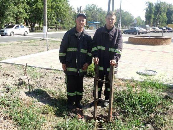 На Черкащині працівники ДСНС врятували цуценя (ФОТО, ВІДЕО)