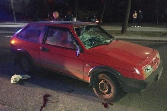У Черкасах нетверезий водій збив пішохода