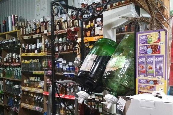У черкаському магазині виявили велику партію підробленого алкоголю (ФОТО)