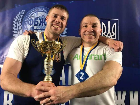 Спортсмен із Черкащини встановив рекорд України