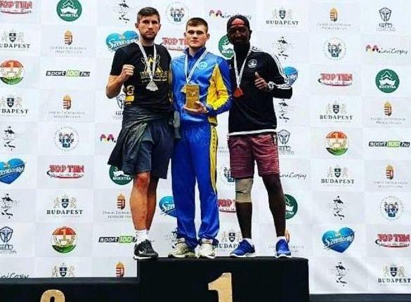 Черкаський спортсмен тріумфував на Кубку світу з кікбоксингу