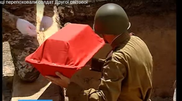 В одному з черкаських сіл перепоховали рештки воїнів Другої світової війни (ВІДЕО)