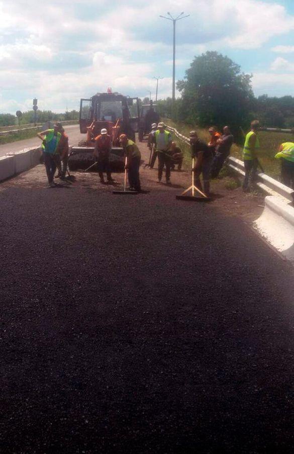 У Смілянському районі завершили ремонт однієї з доріг (ФОТО)
