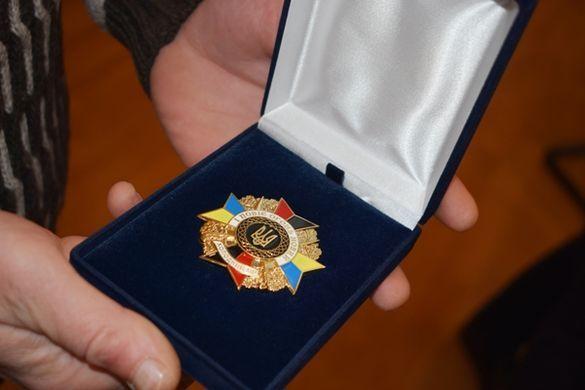 У Черкасах нагородили учасника бойових дій на Сході (ФОТО)