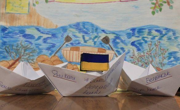 На підтримку захоплених моряків черкащанам пропонують майструвати кораблики