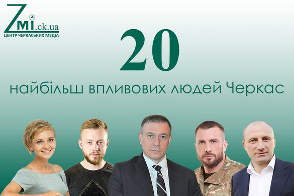 20 найбільш впливових людей Черкас (результати проекту Zmi.ck.ua)