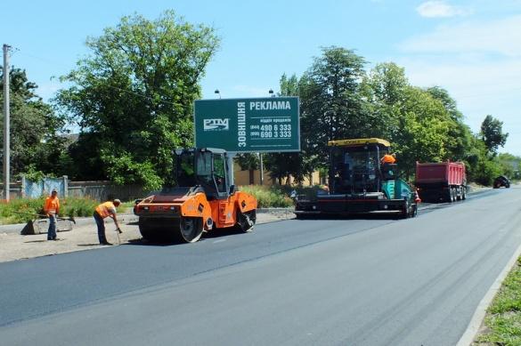 Ремонт доріг у Черкасах 2019: що хочуть ремонтувати та слід підрядника від Буковелю