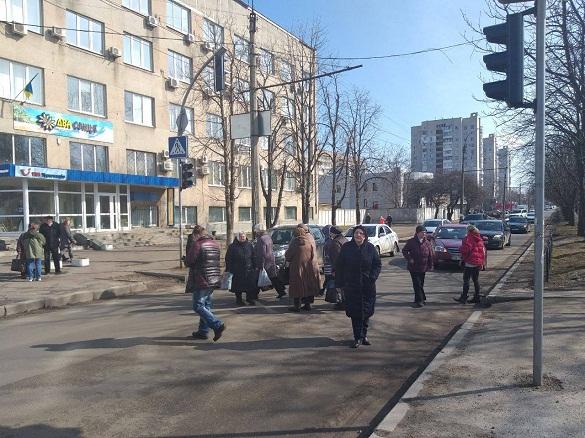 На черкаському перехресті містяни страйкували через газ