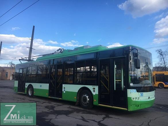 Скільки нових тролейбусів чекати жителям Черкас