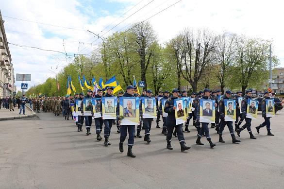 Із нагоди вшанування воїнів АТО у Черкасах пройде пам'ятна хода