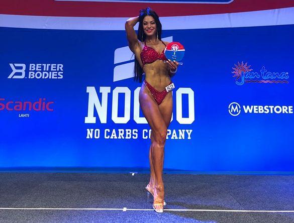 Знову показала, що краща: черкащанка перемогла на престижних змаганнях (ФОТО)