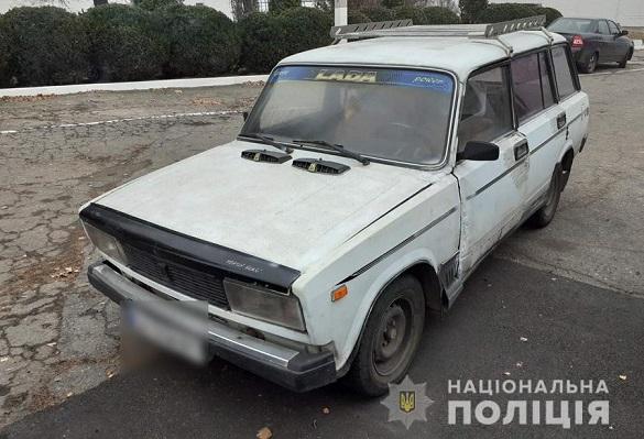 На Черкащині чоловік напідпитку викрав автомобіль товариша (ФОТО)