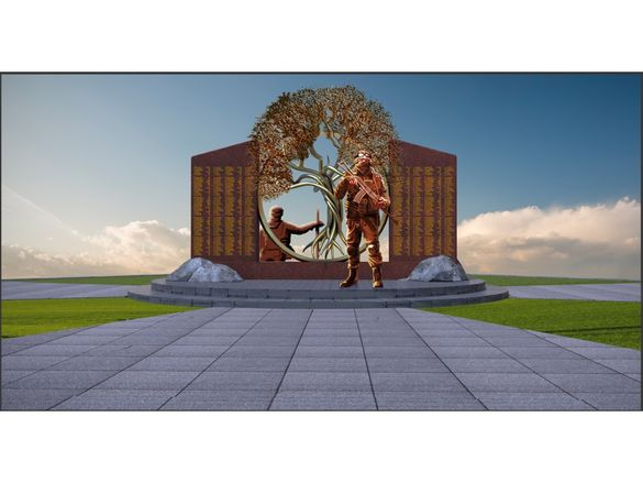 Стало відомо, яке оформлення матиме меморіал воїнам АТО у Черкасах
