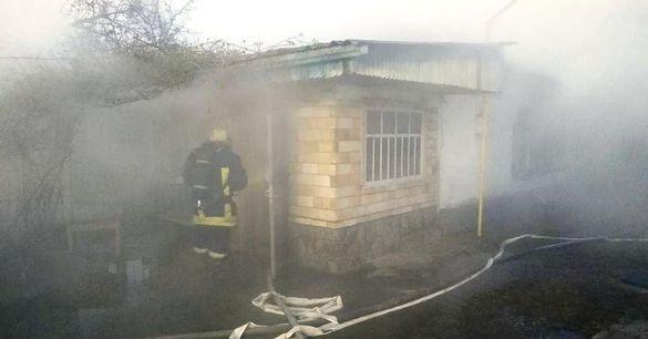 На Золотоніщині внаслідок пожежі загинув чоловік