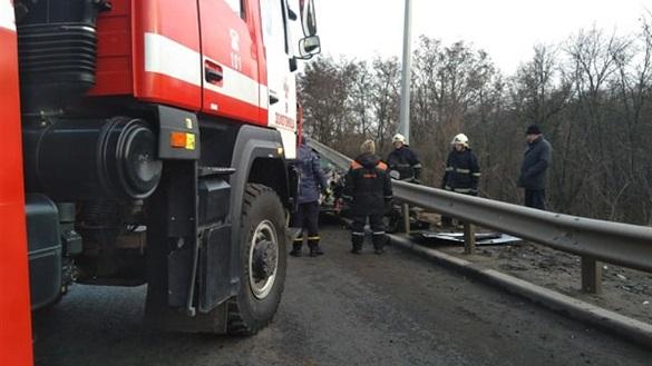 Власник однієї з автозаправних станцій на Черкащині втрапив в ДТП (ФОТО)