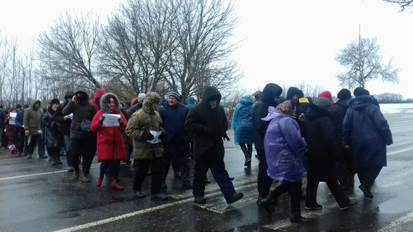 Жителі Золотоніщини поїхали до голови Черкаської ОДА, щоб відстояти право на добровільне створення ОТГ