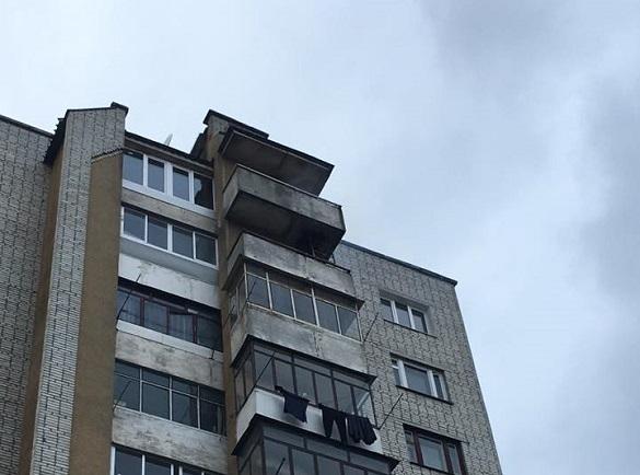 Із черкаської багатоповерхівки випав 40-річний чоловік