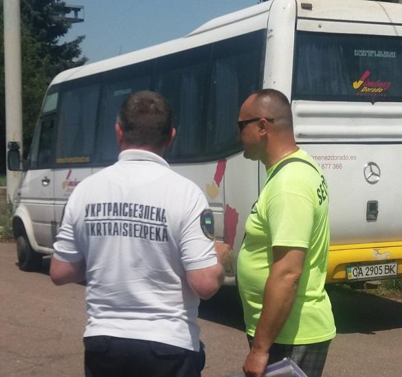 Нелегальних перевізників перевіряють на Черкащині (ФОТО)
