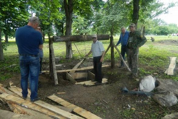 Сміттєзвалище на Черкащині перероблюють в паркову зону (ФОТО)