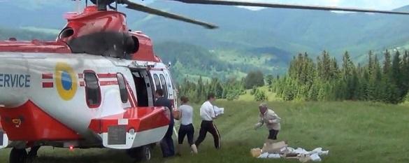 Прикарпатці, що постраждали від повені, отримали гуманітарну допомогу з Черкас (ВІДЕО)