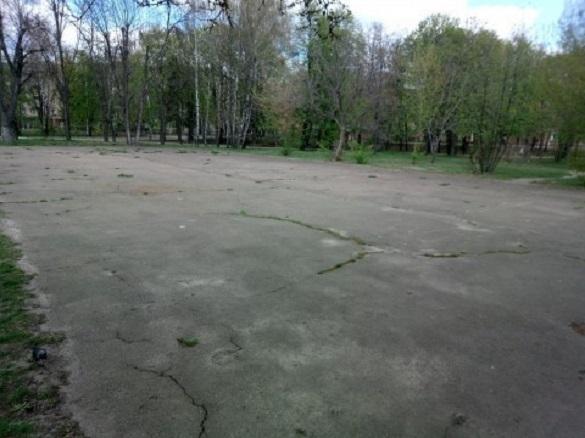 Черкасці просять створити футбольне поле в одному з парків міста (ФОТО)