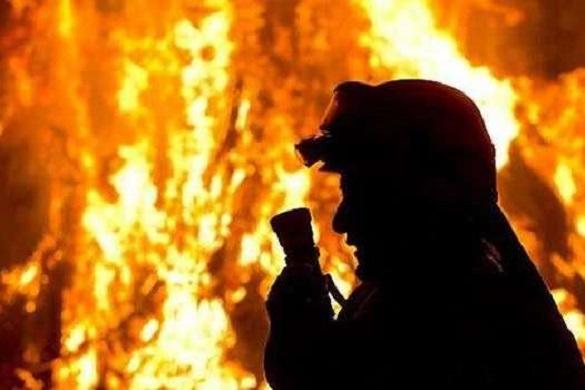 Понад 10 годин на Черкащині тривала пожежа сміттєзвалища (ВІДЕО)