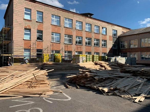 Одну із шкіл реконструюють на Черкащині (ФОТО)