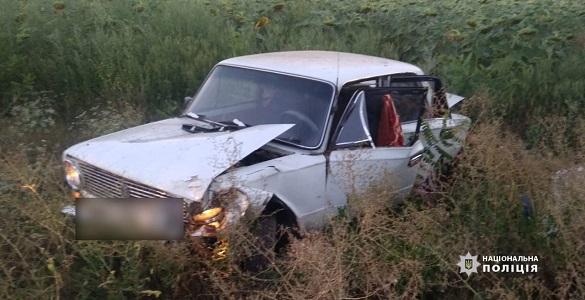 У Черкаській області затримали водія, який спричинив ДТП (ФОТО)