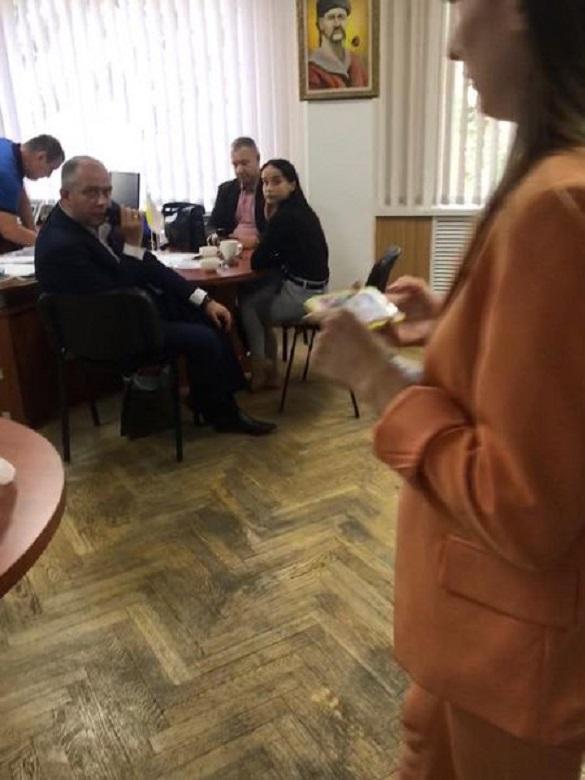 У Черкаській міській раді проводять обшуки