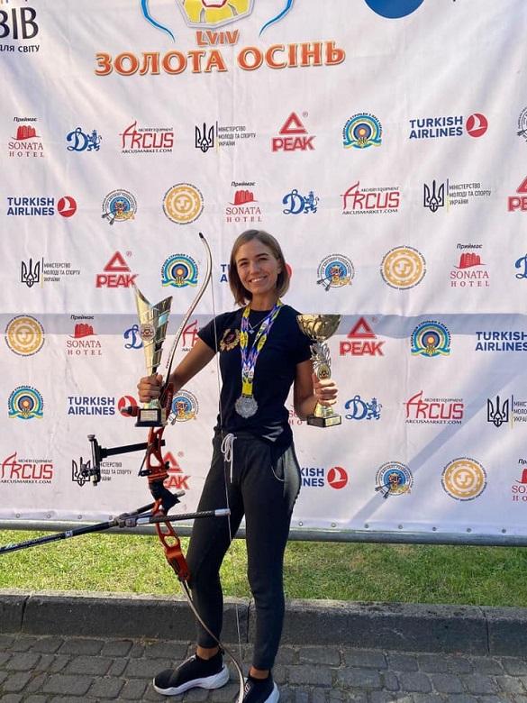 Черкаська спортсменка перемогла у змаганнях зі стрільби з лука (ФОТО)