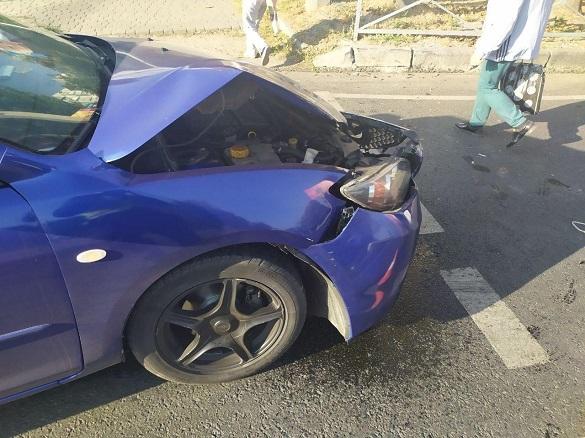 Два автомобілі зіштовхнулися в Черкасах