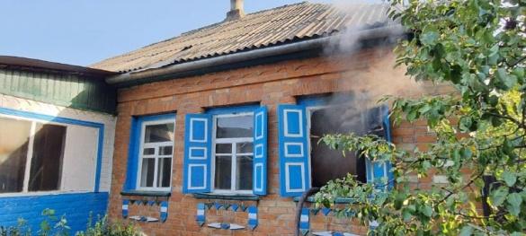 Під час пожежі на Черкащині у власному будинку загинула жінка (ФОТО)
