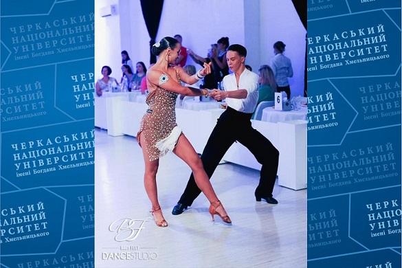 Студент черкаського університету серед переможців чемпіонату України з танців