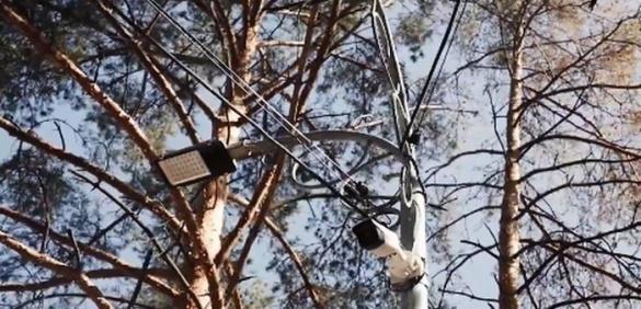 В одному з найбільших черкаських парків запустили систему відеонагляду