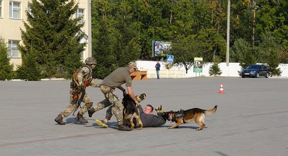У Черкаській області триває чемпіонат з багатоборства тілоохоронців (ФОТО)