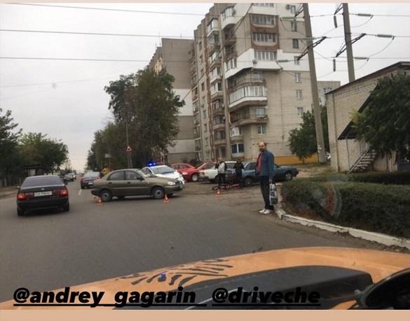 У Черкасах сталася аварія за участі велосипедиста (ФОТО)