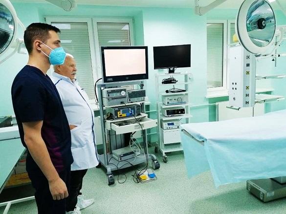 У черкаській лікарні з'явилося сучасне обладнання для зварювання тканин