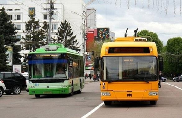 Один із тролейбусних маршрутів Черкас відновлює свою роботу