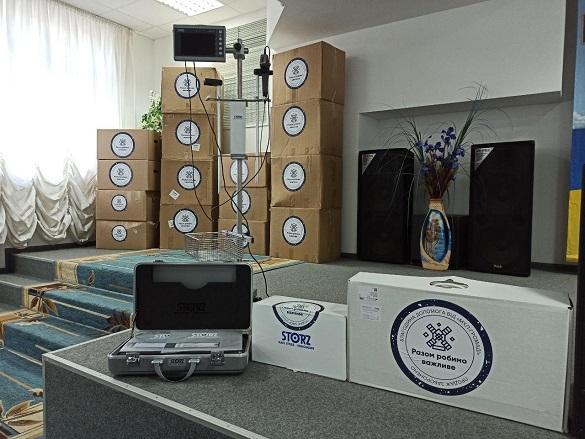 Для однієї з черкаських лікарень закупили сучасне обладнання та засоби захисту
