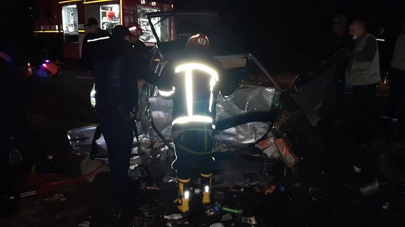 Смертельна ДТП біля Сміли: одна людина загинула, чотири постраждали