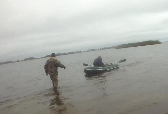 У Черкасах врятували рибалку, який ледь не потонув у річці (ВІДЕО)