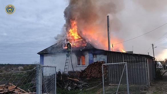 Черкащанин отримав опіки, коли намагався самотужки загасити пожежу в будинку